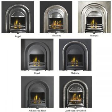 Cast Tec William IV Fireplace | Flames.co.uk